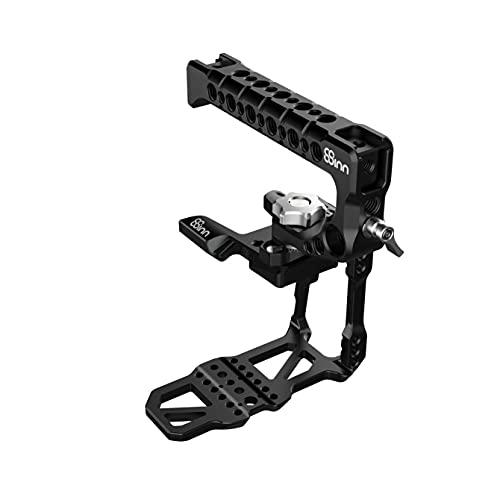 8Sinn Kit de jaula Cage para Blackmagic BMPCC 6K Pro Camera con mango superior Scorpio