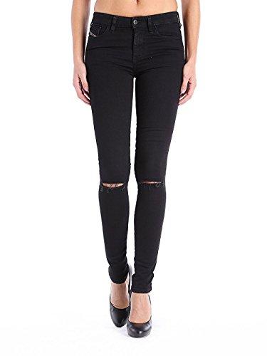 Diesel Donna Jeans Skinzee 08E13 (29W / 32L, Nero)