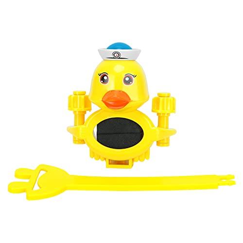 Linda caricatura en forma de pato Extensión del pico del fregadero Extensor de la manija del grifo Dibujos animados que se adaptan a la mayoría de los fregaderos de una sola manija para niños pequeños