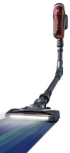 Rowenta RH9678 X-Force Flex 8.60 Animal kabelloser Akku-Staubsauger | Stab-und Handstaubsauger in Einem | 185 Watt | LED-Düse | Flex-Gelenk | EasyWash-Filter | inkl. Mini Turbodüse, etc. | Rot/Grau