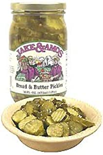 Bread & Butter Pickles 3 jars: Jake and Amos