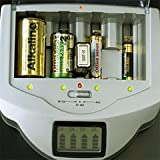 電池 充電器 【AZREX マルチ・チャージャー】【オリジナルおまけ付き】【SN】