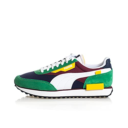 PUMA Future Rider Play On Sneaker Uomo Amazon Green White 371149 34
