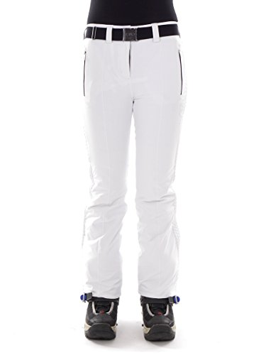 CMP Skihose Snowboardhose Schneehose Weiss GÜRTEL Stretch CLIMAPROTECT® 3W07156 (38)
