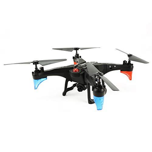 SSBH Drone aereo WIFI Quadricottero assemblato fai da te e multirotori Telecomando ad altezza fissa Modello di aeromobile Aeroplani giocattolo e getti con videocamera HD for regalo di compleanno di Na