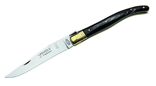 Laguiole Tradition Laguiole-Messer Länge geöffnet: 22.3cm Büffelhorn Taschenmesser, Mehrfarbig, One Size