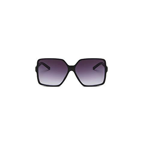 Top Moda Negro De Gran Tamaño Gafas De Sol Para Mujeres Hombres 2020 Retro Gran Cuadrado Sol Gafas Marca UV 400 Gafas