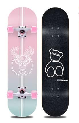 TTXXSS Professionelles Skateboard für...