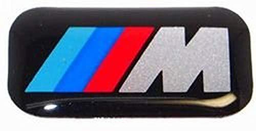 4x ORIGINAL BMW Emblem Plakette Aufkleber M-Zeichen Alufelgen