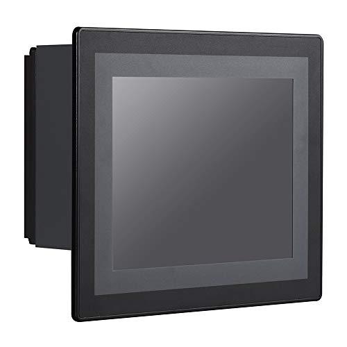 HUNSN 8 Inch LED Embedded Industrial Panel PC, Resistive Touch Screen, Front Panel IP65, Intel Celeron J1900, PW16, VGA/3USB2.0/USB3.0/LAN/3COM/FANLESS, (Barebone, NO RAM, NO Storage, NO System)