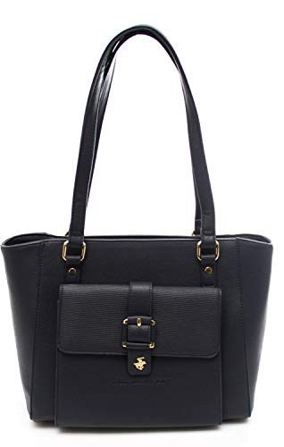 BEVERLY HILLS POLO CLUB Bolso de mujer Darlene shopping bag turquesa Talla única