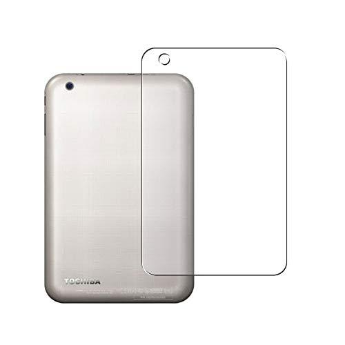 Vaxson 2 Unidades Protector de pantalla Posterior, compatible con TOSHIBA dynabook Tab VT484/26K / VT484/23K / VT484/22K 8inch [No Vidrio Templado] TPU Película Protectora Espalda Skin Cover