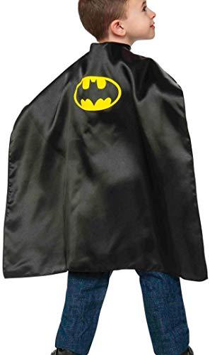Rubies - Capa de disfraz Batman para niños, Talla única infantil (Rubie's 36625)