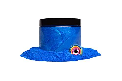 "Mica Powder Pigment ""Dark Ocean Blue"" (50g) Multipurpose DIY Arts and Crafts Additive   Woodworking, Natural Bath Bombs, Resin, Paint, Epoxy, Soap, Nail Polish, Lip Balm"