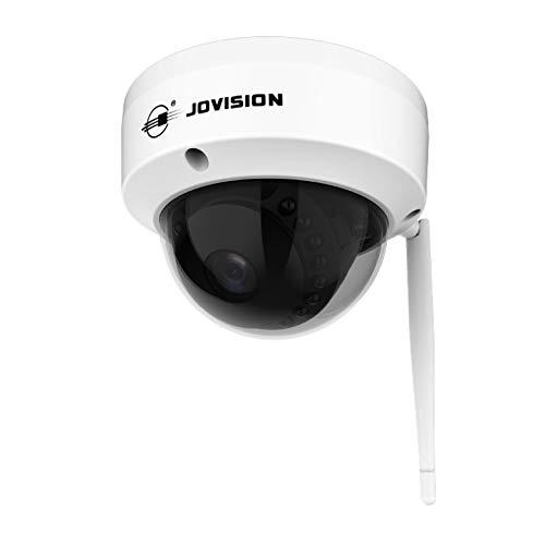 Jovision® WLAN WiFi Dome Kamera für In- und Outdoor / 2MP Full HD 1080P / Überwachungskamera mit Bewegungserkennung/SD-Kartenslot für bis zu 128 GB