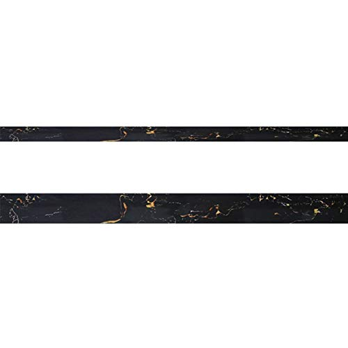 Etiqueta De La Pared Autoadhesiva Baldosa Decorativa Línea De Zócalo Impermeable Antideslizante PVC Autoadhesivo Línea De Pie Pegatina (Talla : 5cm*5m)