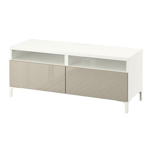 IKEA 10202.20511.1410 - Mueble de TV con cajones abiertos, color blanco y...