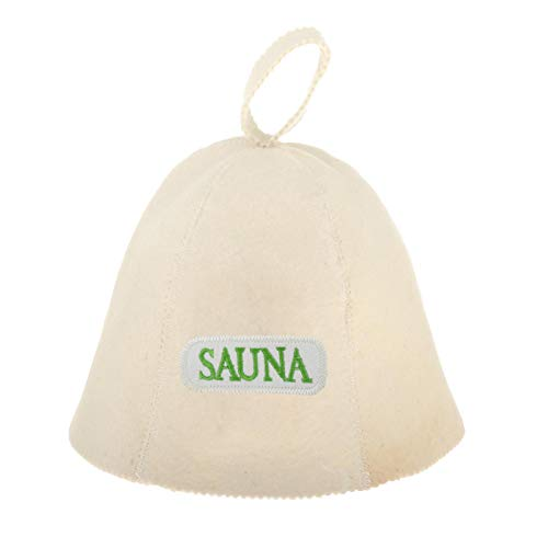 Fenteer Sombrero de Sauna Finlandés con Fieltro de Lana, Protección para La Cabeza para Hombres Y Mujeres - Estilo 5