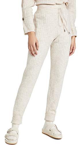 Free People Pantalones deportivos para mujer alrededor del reloj. - beige - X-Small
