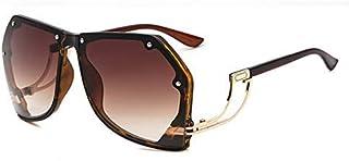 Sunglasses for women Fashion Polygonal Sunglasses Women Retro Gradient Tinted Color Lens Metal Frame Female Eyeglasses