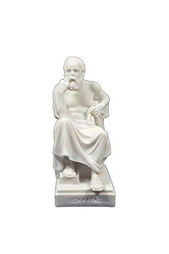 Estia Creations Sokrates-Statue, antiker griechischer Philosoph