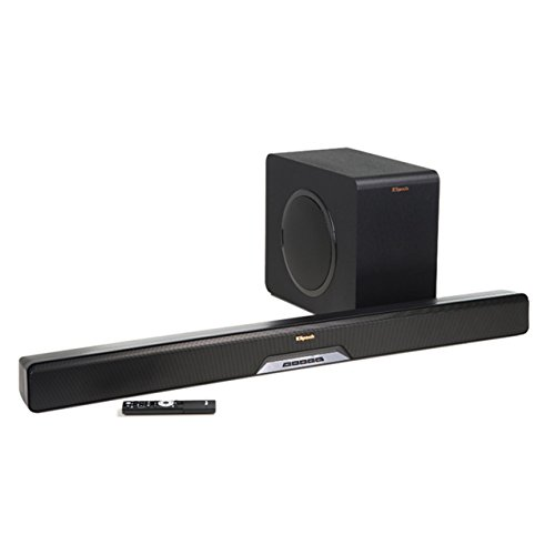 Klipsch RSB-14 Sound Bar with Wireless Subwoofer with Play Fi