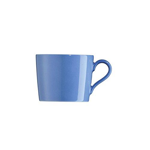 Arzberg Tric Blau Kaffee-Obertasse, Porzellan, Blue, 28.1 x 19.3 x 8.9 cm
