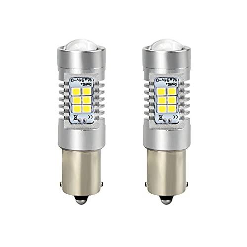 GSDGBDFE 1157 BAY15D 21W 3030 21SMD Bombilla Super Bright 1156 BA15S BAU15S LED para la lámpara de inversión de la luz de la señal de la señal de Giro (Color Temperature : 1157)