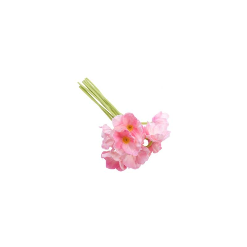 silk flower arrangements favomoto 10pcs artificial poppy flower plants fake flower bouquet anemone stems for summer indoor office tabletop wedding party home centerpieces vase pink