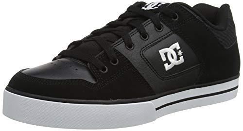 DC Shoes Pure - Chaussures en Cuir - Homme - EU 42.5 - Noir