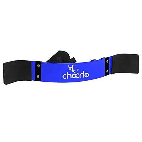 Chocho Arm Blaster - Aislador de bíceps para levantamiento de pesas, barra para tríceps o gimnasia, color azul