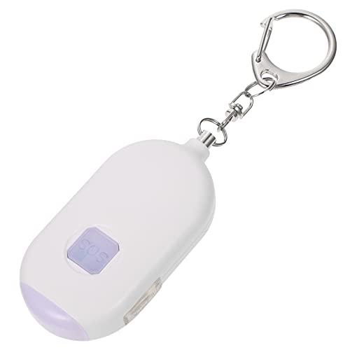 KESYOO Alarma Personal Alarma de Emergencia Llavero con Linterna LED Alarma de Seguridad de Escape Inteligente de Defensa Personal para Mujeres Hombres Niños Ancianos
