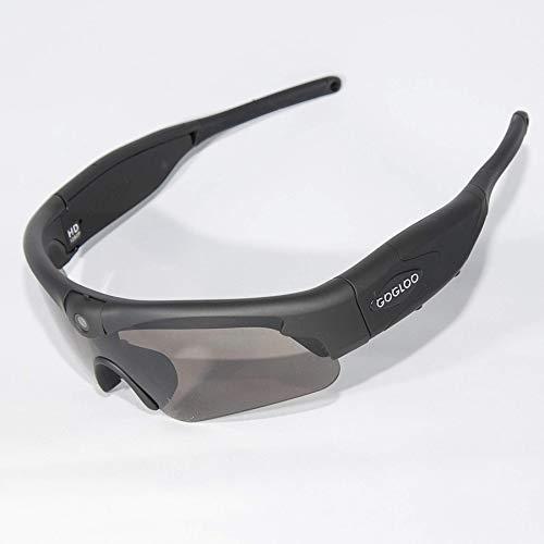 Gafas de sol de alta gama con cámara integrada, grabación de vídeo Full HD 1080p, WiFi, filtro UV400, para deporte, pesca, esquí, adaptable para gafas de prescripción...