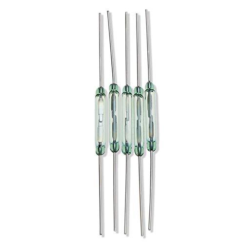 LKK-KK Tipo seco Reed Tubería/interruptores magnéticos (5PCS, diámetro 1,8 mm)