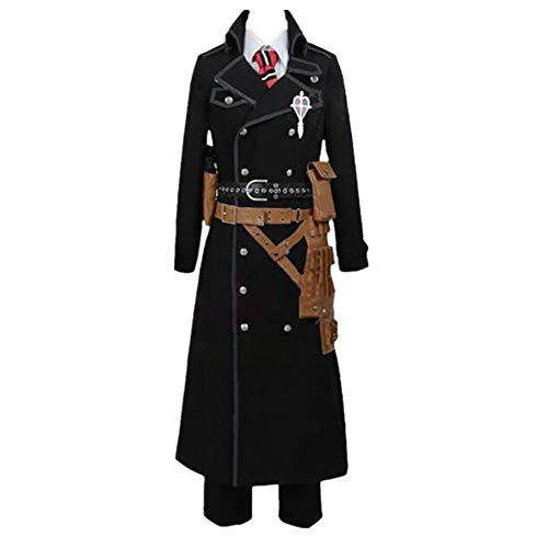 New Ao no Exorcist Blue Exorcist Okumura Yukio Cosplay Costume Set Version custum Made (Male M)