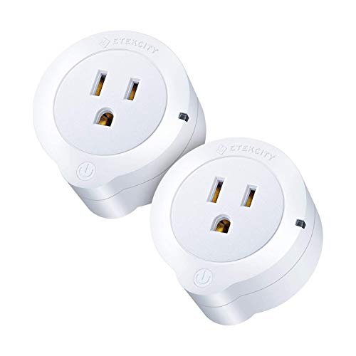 VeSync Smart Plug by Etekcity, 2 Pack Mini WiFi Outlets, Works with Alexa, Google Home & IFTTT,...