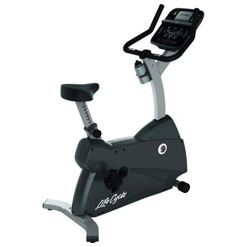 Life Fitness - Bicicleta estática C1 con Consola Track Connect