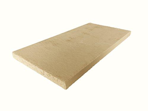 Schamotte-Platte 40 x 20 x 2 cm (1)