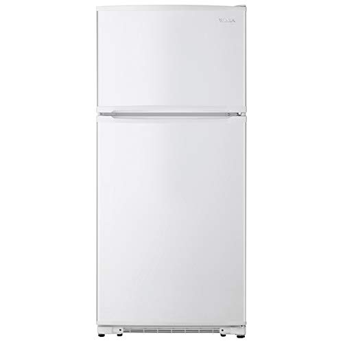 WINIA WTE18HSWCD 18 Cu. Ft. Top Mount Refrigerator/Ice Maker Ready - White