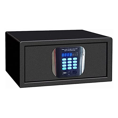 Massage-AED Caja Fuerte Cerradura electrónica con Teclado electrónico para la Oficina en casa Caja de Dinero para Almacenamiento de Efectivo de joyería