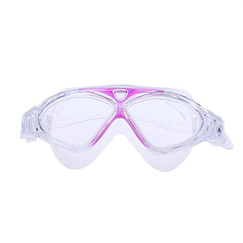 Kinnart DZXAMD1RFO7N43 - Gafas de natación, color rojo vino
