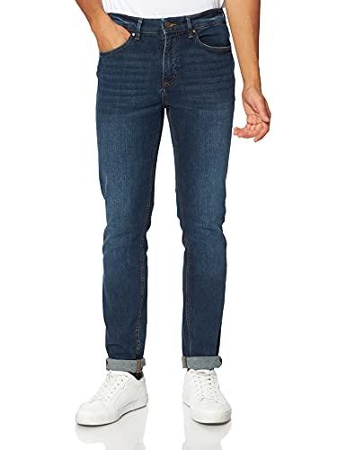 Springfield Jeans Slim fit Pantalones, Azul Medio, 34 para Hombre