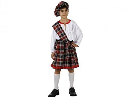 Schotse carnaval kostuum 10-12 jaar