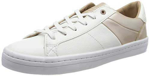 Superdry Skater Sleek, Zapatillas para Mujer, Blanco (Optic 01c), 36 EU