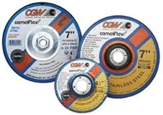 CGW Abrasive Mfg USA (CGW35621) Depressed Center Grinding Wheel, T27, 4-1/2