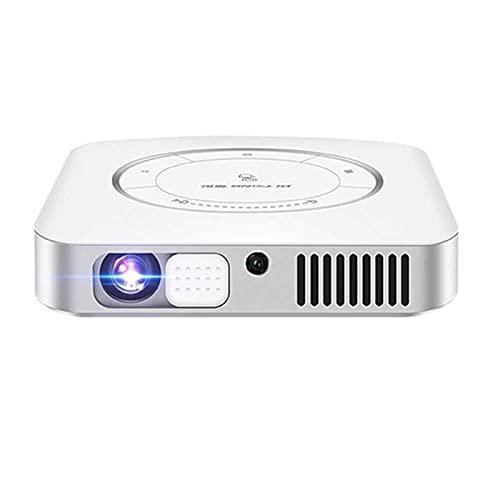 N\C ZSCC Proyectores de vídeo, Full HD 1080P Proyector de vídeo portátil Compatible Mini proyector TV Stick HDMI USB Barra de Sonido Compatible con Videojuegos Última actualización