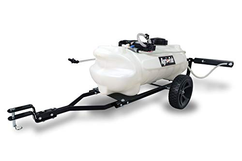 Agri-Fab 45-0292 15 Gallon Tow Sprayer, White & Black