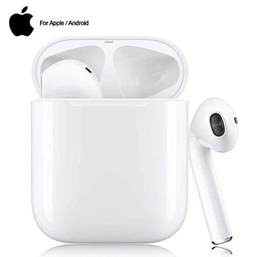 Bluetooth Kopfhörer,In-Ear Kabellose Kopfhörer,Bluetooth Headset,Sport-3D-Stereo-Kopfhörer,mit 24H Ladekästchen und Integriertem Mikrofon Auto-Pairing für Samsung/iPhone11/Android/Airpod