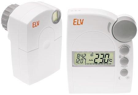 Funk Elektronik Thermostat Set Heizung Ventil Haus Regler FHT8 Heizkörperthermost