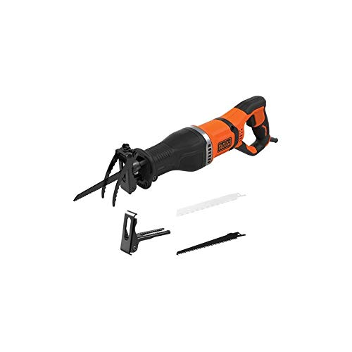 Black & Decker 5035048737279 Sierra de calar 750 W, 750 W, Negro/Naranja